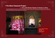 YAHAM Typical Reference for LED Window Display catalogues - 2
