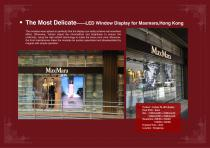 YAHAM Typical Reference for LED Window Display catalogues - 6