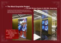 YAHAM Typical Reference for LED Window Display catalogues - 7
