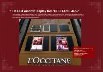 YAHAM Typical Reference for LED Window Display catalogues - 8