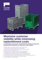 Maximize customer visibility while minimizing replenishment costs - 1