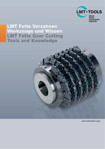 Catalogue Gear Cutting LMT Tools
