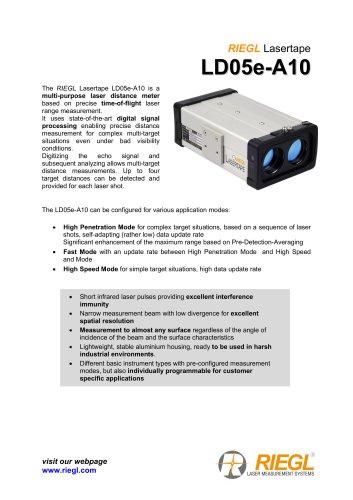 RIEGL Lasertape LD05e-A10