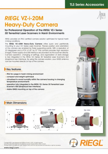 RIEGL VZ-i-20M Heavy-Duty Camera