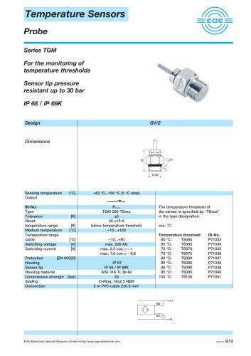 Temperature Sensors Series TGM