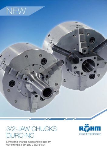3/2 jaw chucks DURO-NC