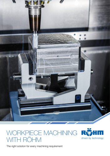 NEW Workpiece machining with RÖHM