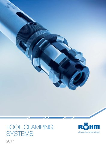 TOOL CLAMPING SYSTEMS Catalogue 2017
