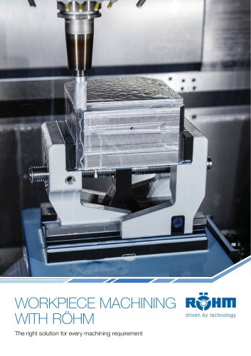 WORKPIECE MACHINING WITH RÖHM