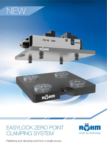 Zero Point Clamping System EASYLOCK