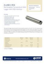 EL-USB-1-RCG, Rechargable Temperature Data Logger with USB Interface - 1