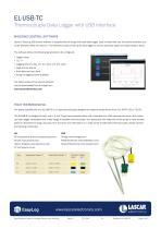 EL-USB-TC, Thermocouple Data Logger with USB Interface - 2
