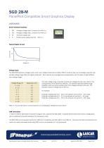 SGD 28-M, PanelPilot Compatible Smart Graphics Display - 2