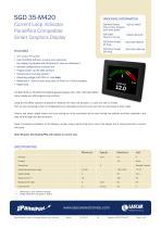 SGD 35-M420, Current Loop Indicator PanelPilot Compatible Smart Graphics Display - 1