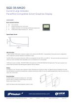 SGD 35-M420, Current Loop Indicator PanelPilot Compatible Smart Graphics Display - 2