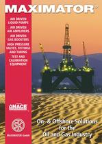 MAXIMATOR On- & Offshore Solutions for the Oil and Gas Industry