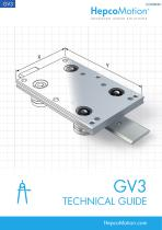 GV3 Linear Guide System Technical Guide