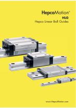 HLG Hepco Linear Ball Guides
