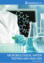 MICROBIOLOGICAL WATER TESTING AND ANALYSIS