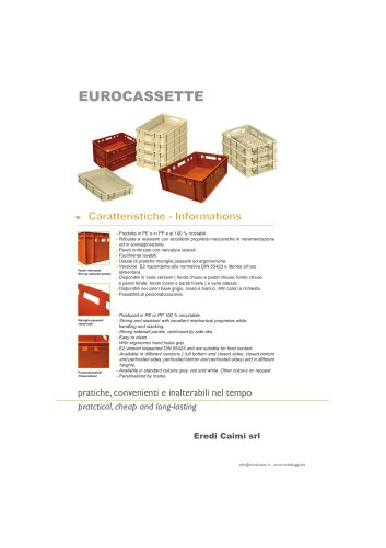 EURO CASSETTE
