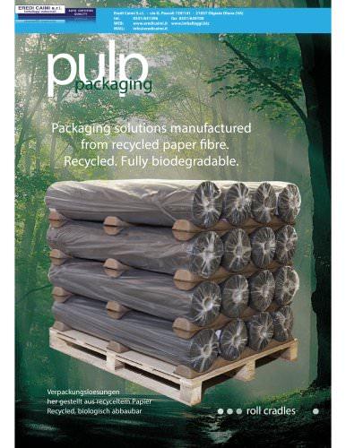 roll cradles pulp