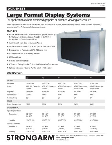 Large Format Display Systems