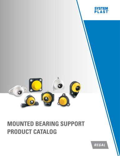System Plast Mounted Bearing Supports Catalog - Form 9711E