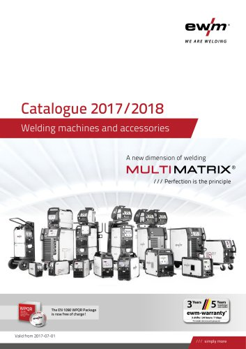 Catalogue 2017/2018