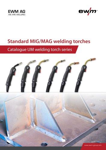 Standard MIG/MAG welding torches