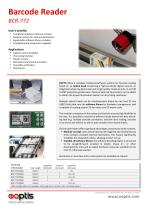 Barcode Reader BCR-772