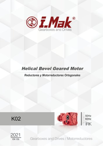 Helical Bevel Geared Motor - IRK Series