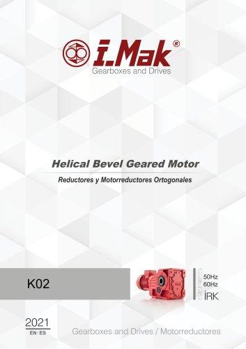 Helical Gear Units (IR Series) 50/60hz