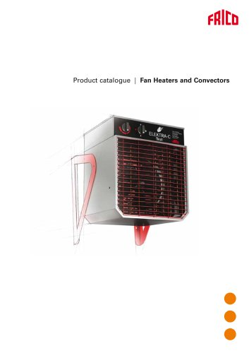 Fan heaters and convectors