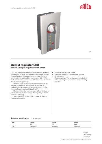 Output regulator CIRT