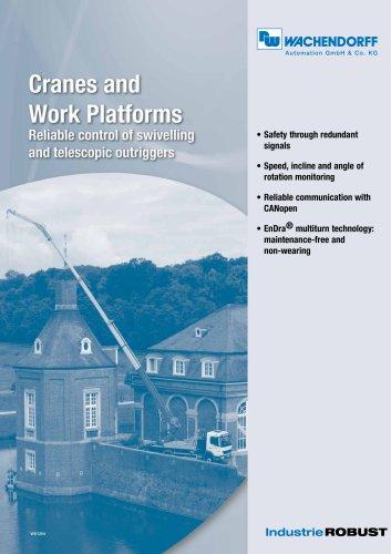 Cranes and Work Platforms