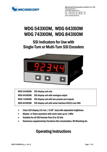 WDG743XIOM