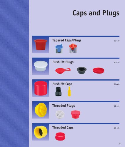 Caps and Plugs