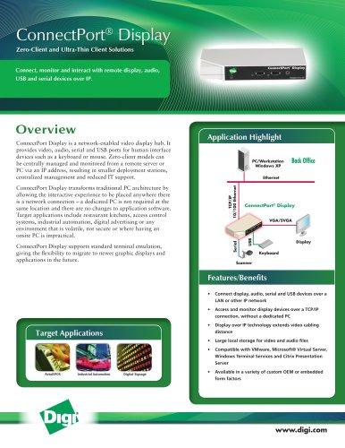 ConnectPort® Display