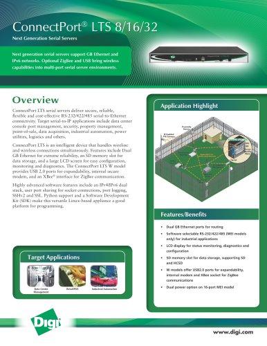ConnectPort® LTS 8/16/32