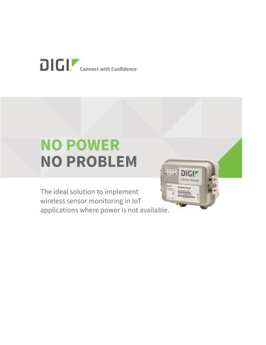 Digi Connect® Sensor