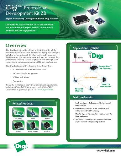 iDigi™ Professional Development Kit ZB
