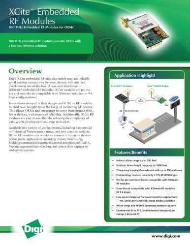 XCite? Embedded RF Modules