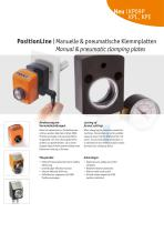PositionLine | Manual & pneumatic clamping plates