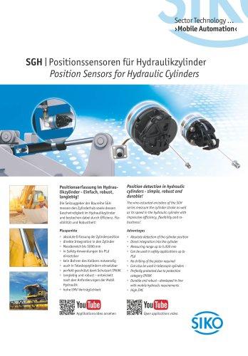 SGH   Stroke measurement in hydraulic cylinders