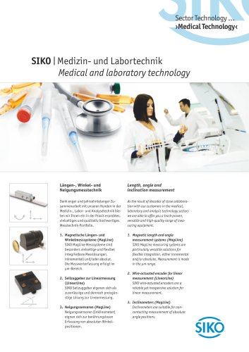 SIKO   Medical and laboratory technology