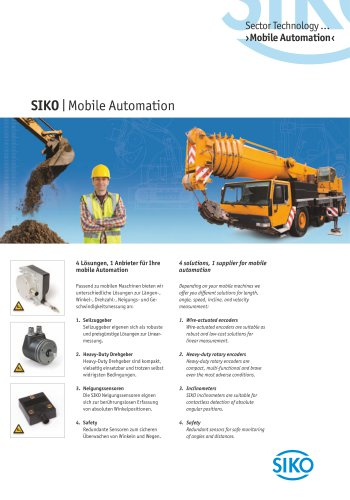 SIKO   Mobile Automation