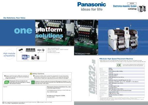 Panasonic CM232