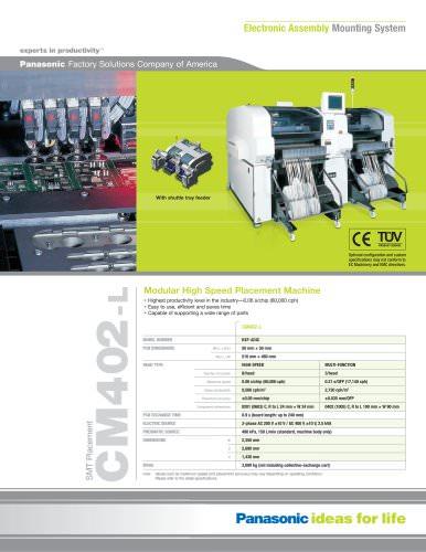 Panasonic Pre-Owned Certified Equipment CM402