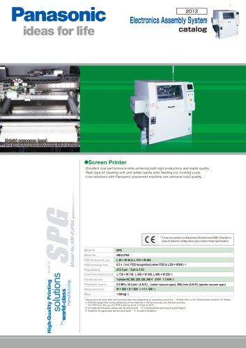 SPG Screen Printer