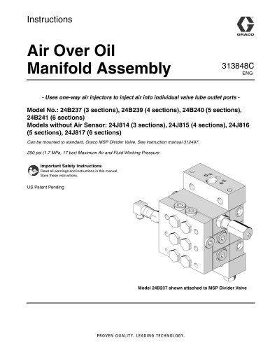 Air/Oil AO Series Valves